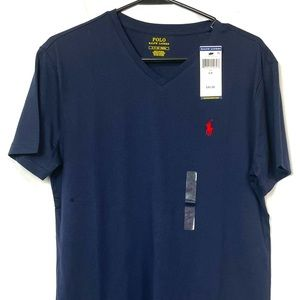 NWT Polo 🐎 Ralph Lauren Vneck T-shirt Small